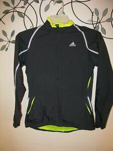 Adidas Womens Clima 365 Green Zip up Hooded Jacket Medium   eBay