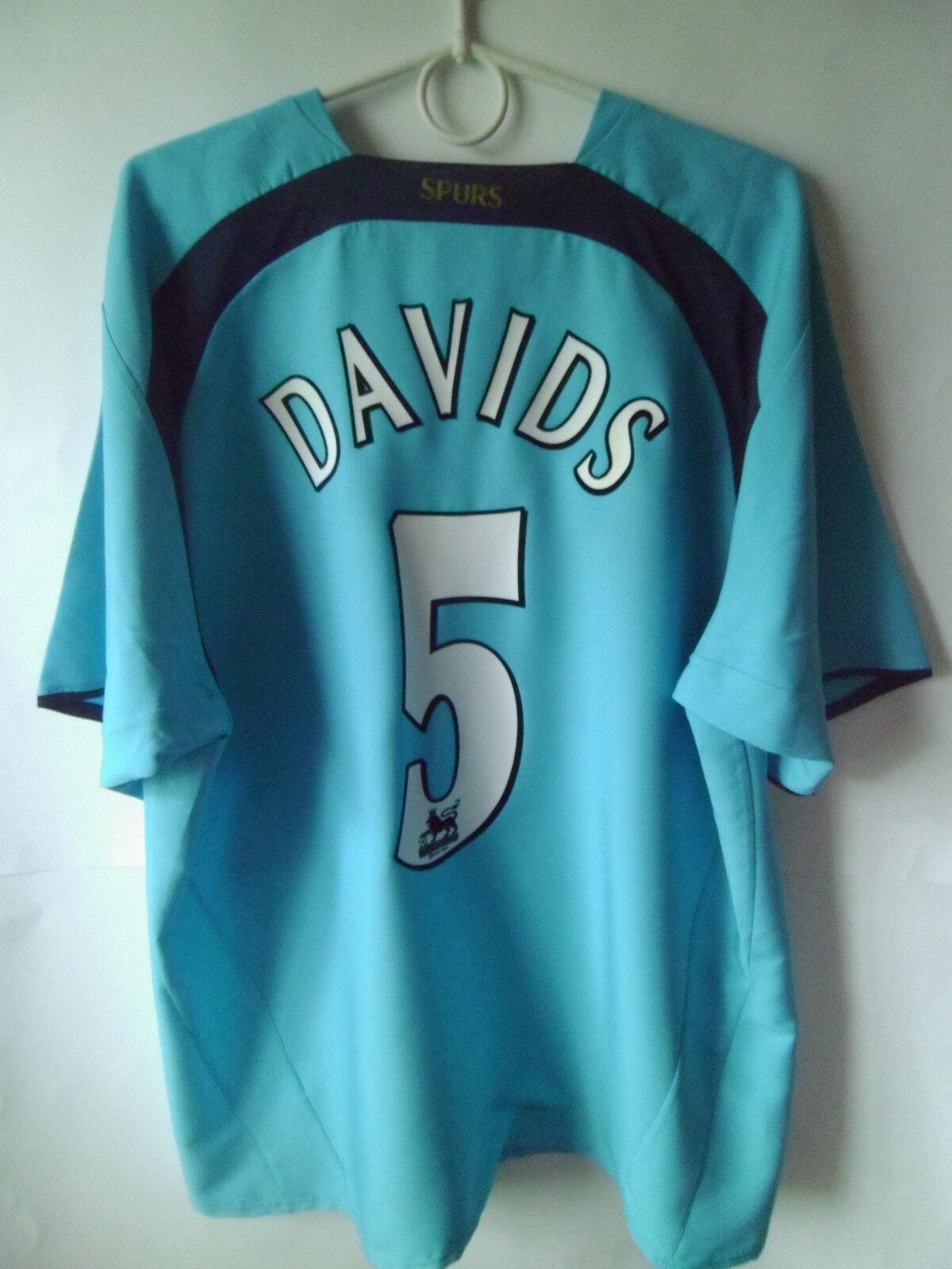 EXCELLENT    DAVIDS  Shirt    2006-07 Tottenham Away Shirt  Jersey Trikot XL 61e755