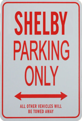SHELBY PARKING ONLY MINIATURE FUN PARKING SIGNS