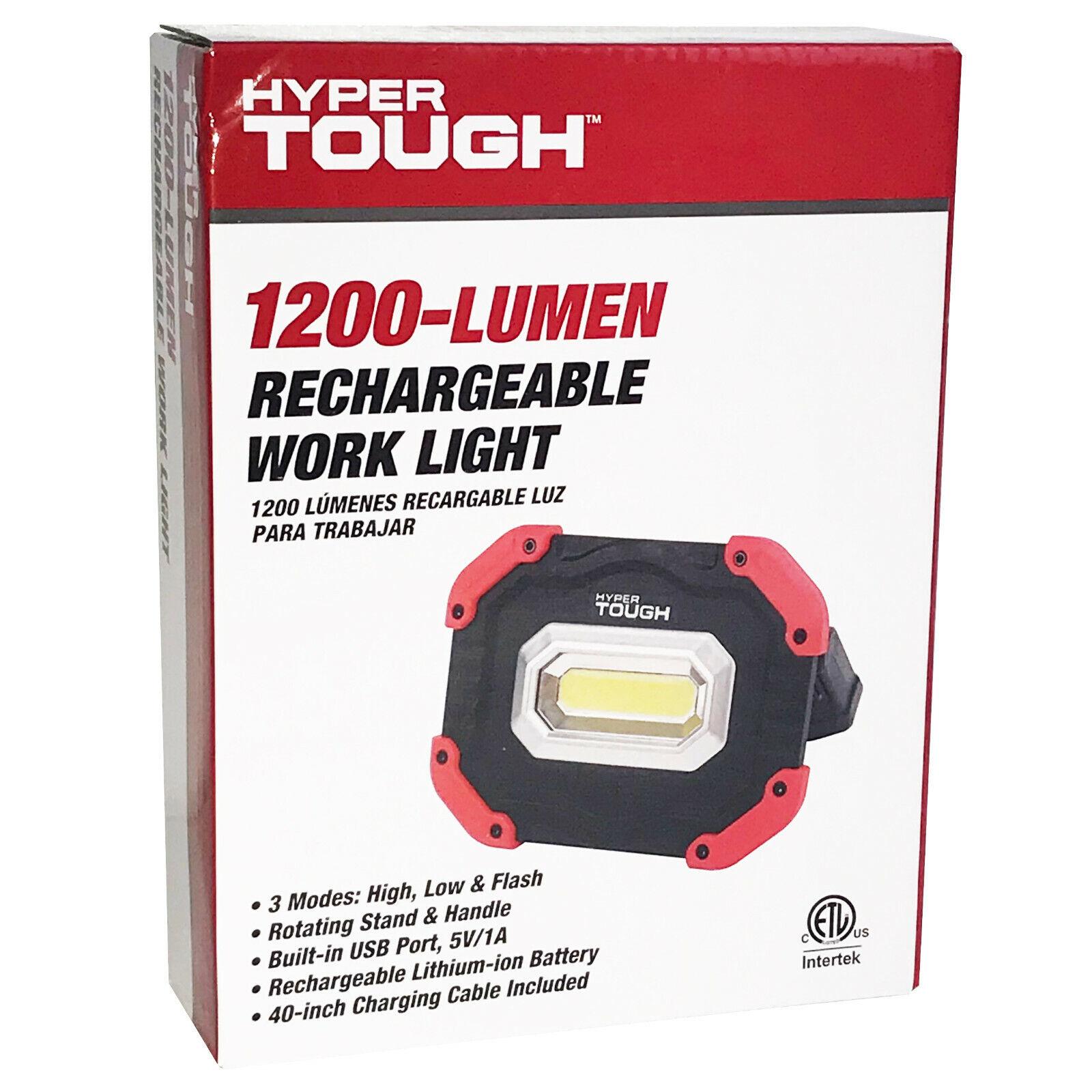 Workshop Flashlights Work Lights Hyper Tough 1200 Lumen