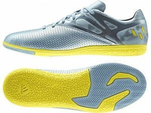 Adidas Messi 15.3 in (environ 38.86 cm) soccer intérieur Chaussures Futsal Ice-jaune vif-Core Noir-afficher le titre d`origine n7zvKw7p-07141518-722804460