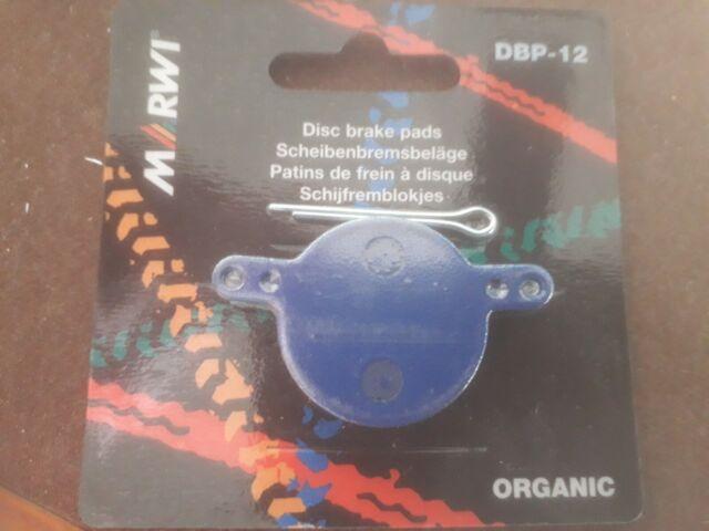 Pair MAGURA Julie 2001-08 Organic Bike Disc Brake Pads /& Split Pin MARWI DBP12