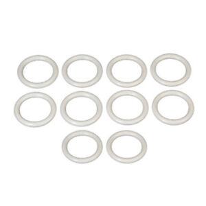 60 Stück Gardinenringe für 16 20 mm Stange mit Faltenlegehaken Ringe schwarz
