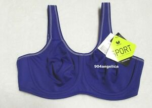 a84662175c7bc Image is loading Wacoal-Maximum-Support-Underwire-Sports-Bra-855170-36D-