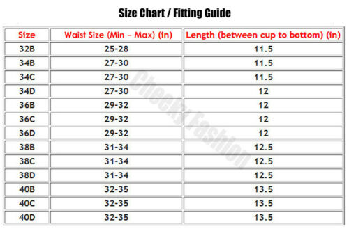 32 to 40 LOW BACK Bridal Bustier CORSET Shaper STRAPLESS PUSH UP Longline BRA