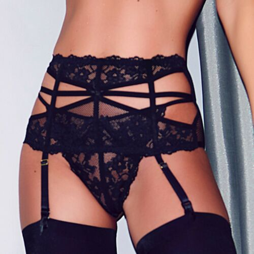 50004 Pour Moi Contradiction Strapped G String ONLY Black