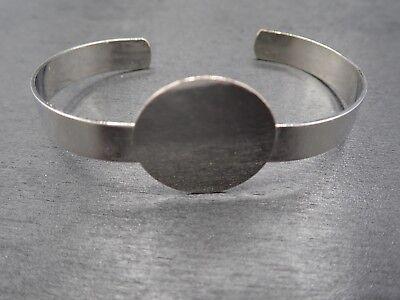 Impressart Metall Armband Rohling in Aluminium v 15,2x3,81cm Stempel 2 Stk