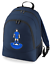 Football-TEAM-KIT-COLOURS-Leicester-Supporter-unisex-backpack-rucksack-bag miniatuur 3