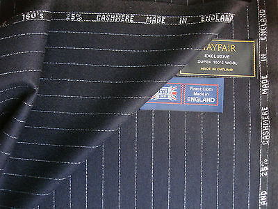 75%SUPER 160's WOOL WORSTED &25%CASHMERE FLANNEL SUITING FABRIC–4.95+0.62=5.57m