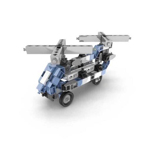 Engino Technikbaukasten Baukasten Lernbaukasten 12 Flugzeuge mit App für Handy