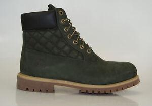 Timberland-6-pulgadas-Premium-Boots-Waterproof-Botas-De-Hombre-cordon-9751b