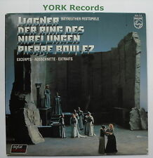 6527 115 - WAGNER - The Ring Highlights BOULEZ Bayreuther Fest - Ex LP Record
