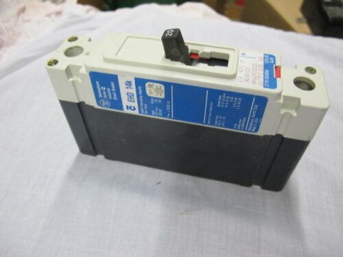 WARRANTY Westinghouse EHD1020 1 POLE 20 AMP 277 VOLT Circuit Breaker