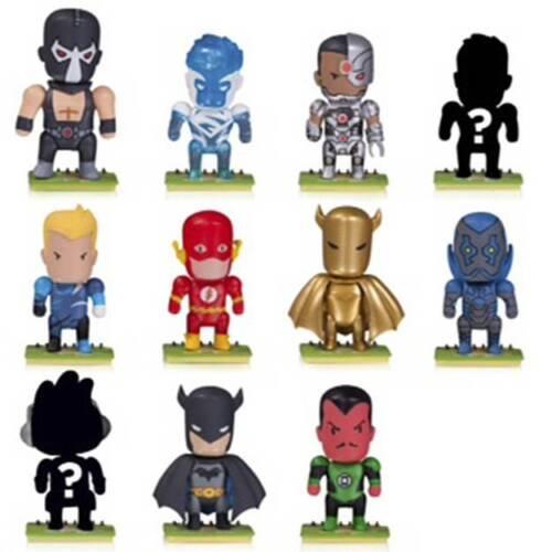 DC Scribblenauts démasquée aveugle Mini Figures Series 2 aléatoire simple