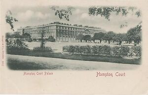 POSTCARD-HAMPTON-COURT-PALACE