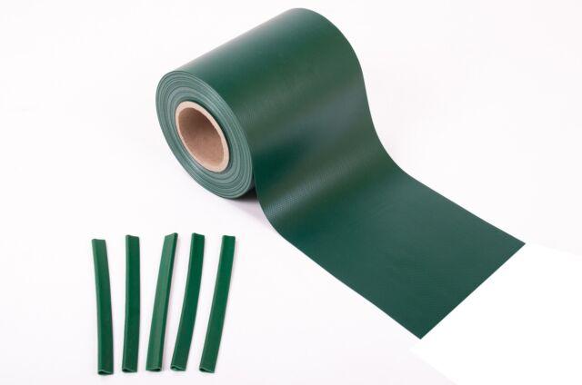 7m² PVC Sichtschutz blickdicht Windschutz Zaunblende Lärmschutz Doppelstabmatten