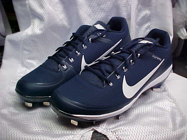 636e9973c Nike Air Clipper  17 Baseball Metal Cleats Navy white 880261-414 Size 12  for sale online