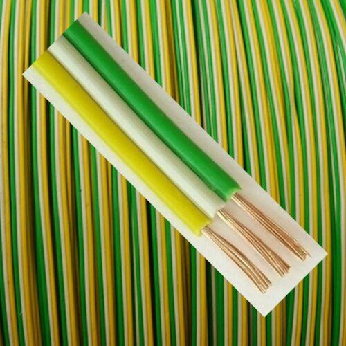 20m Giallo//Bianco//Verde LIYZ 3x0,14mm² Cavo trefolo drilling trefolo 3-FILI