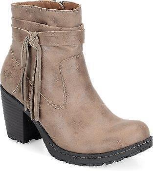 Nuevo Para mujeres nacido  Alicudi  - fue   - Marrón Topo bota, tacón de 2.5