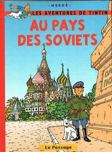 PASTICHE-Tintin-au-pays-des-Soviets-Cartonne-couleurs-couverture-EDWOOD-2017