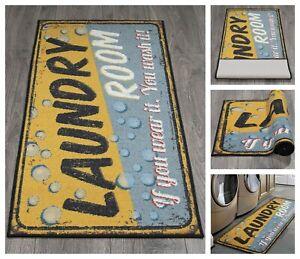 Laundry-Room-Runner-Rug-20-034-x-59-034-Carpet-Non-Slip-Rubber-Backing-Area-Rug