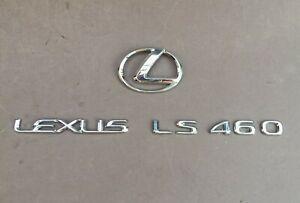 07-12 NEW OEM LEXUS LS460 LS460L AWD EMBLEM REAR 2007 2008 2009 2010 2011 2012