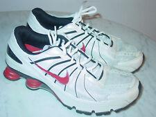 reputable site 793bd 0938f 2008 Mens Nike Shox Turbo+ VII White Comet Red Black Silver Shoes!