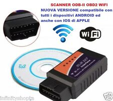 SCANNER ELM327 OBD-II WIFI OBD2 ODB2 DIAGNOSI MOTORE PER IOS ANDROID IPHONE IPAD