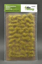 DioDump DD011-Q  6mm realistic grass patches OCHER various shape diorama scenery