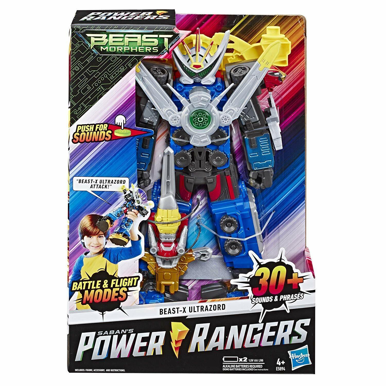Power Rangers Bestia Morphers 12 pulgadas Bestia-x Ultrazord cuentan con figura de acción