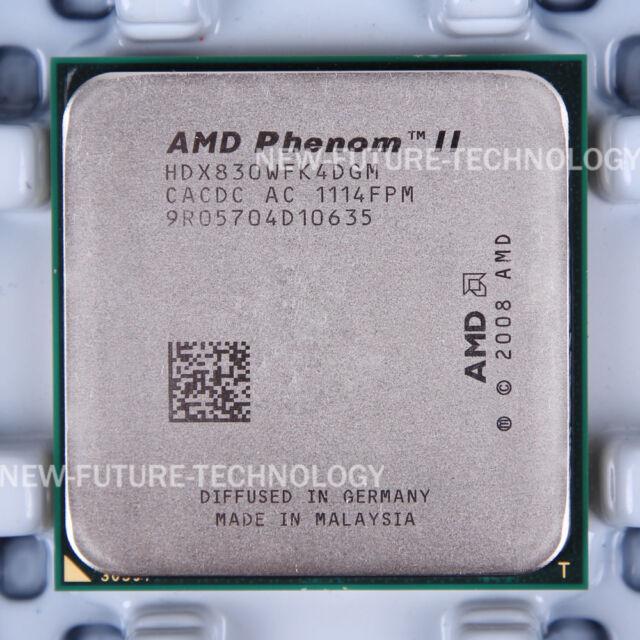 AMD Phenom II X4 830 (HDX830WFK4DGM) CPU 2000 MHz 2.8 GHz Socket AM3 100% Work
