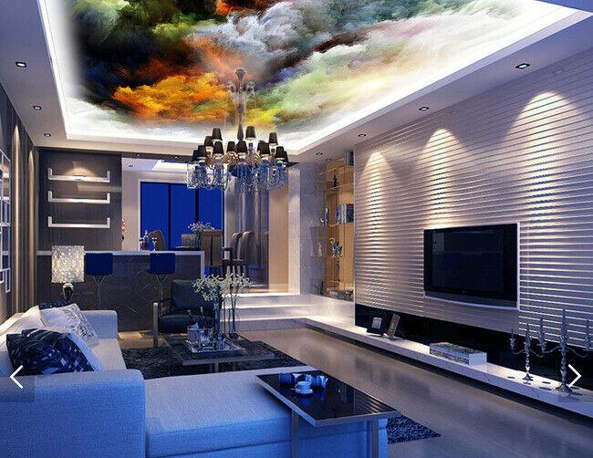 3D Sun Clouds Oil Painting 83 Wall Paper Wall Print Decal Wall Deco AJ WALLPAPER
