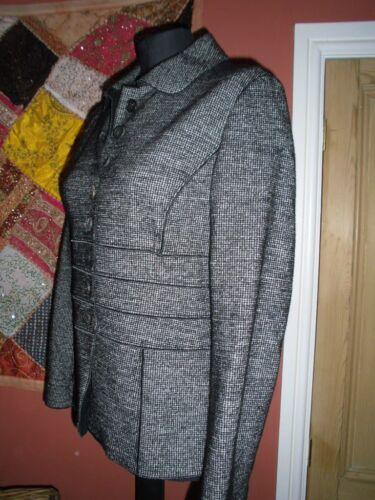 nerobianco StrenesseStunning 12misto Jackettaglia lana verginecotonecolore hdCtQsxr