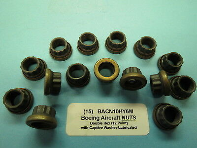 Boeing Aircraft 12 Point S.S 25+25 Bolts with Reduced Head Nuts