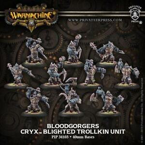 Bloodgorgers Blighted Trollkin Unit (10) by Privateer Press PIP 34103