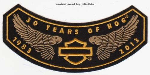 2013 HOG Members rocker Patch HARLEY DAVIDSON OWNERS GROUP HD MC1983-2013