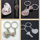 Heart+Arrow + Key Key Chain Ring Keyring Lover Gift Couple Keyfob
