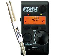 TAMA RW30 Rhythm Watch Mini RW-30 + KEEPDRUM Sticks 1 Paar