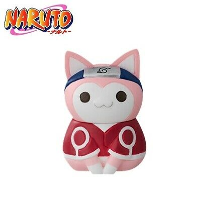 Megahouse Nyaruto NARUTO Konoha/'s Cheerful Cats Mini Figure Sasuke Uchiha Cat