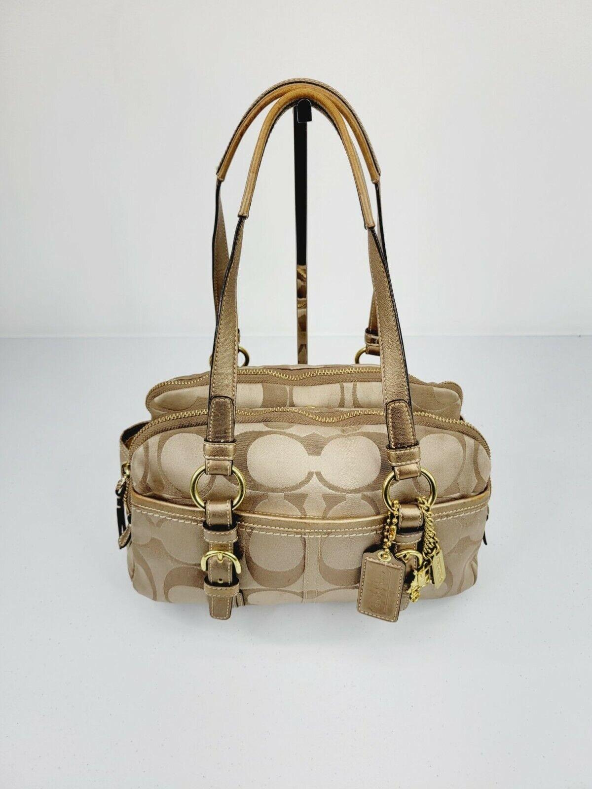 Coach Bonnie Soho Signature Shoulder Bag - image 1