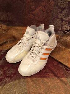 2fe492e8c226 Image is loading Adidas-Team-Color-White-Basketball-Shoes-Orange-ART-