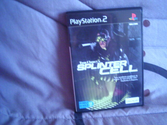 jeu playstation 2 tom clancy's splinter cell