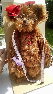 "Maker"" Annette Funicello Collectible Bear Limited Edition # 409/2500 Hearty L""bea R Bears"