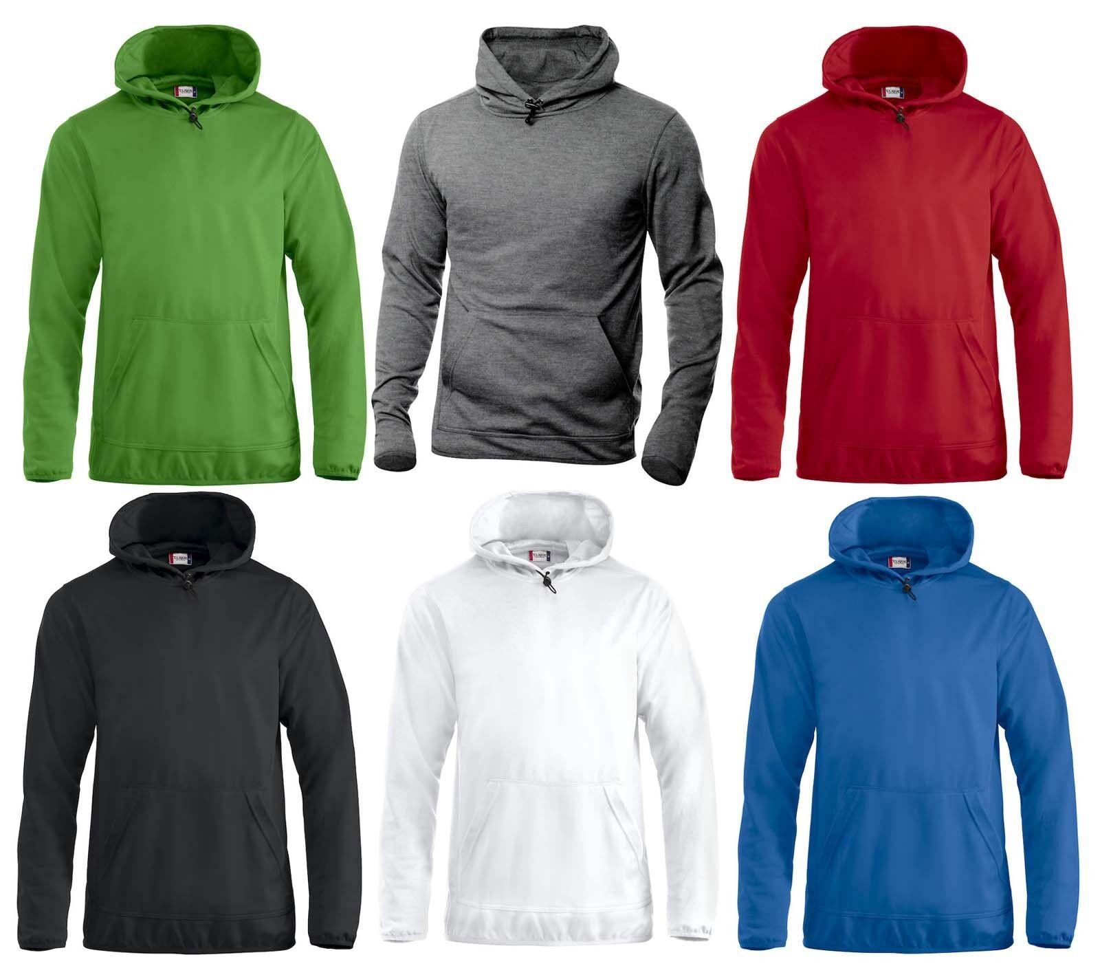 Felpa tecnica maglione unisex con cappuccio foderato e marsupio 230 gr 6 colorei