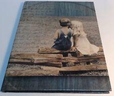 24 pages single photo album ,girl kissing boy / album pour 24 photos