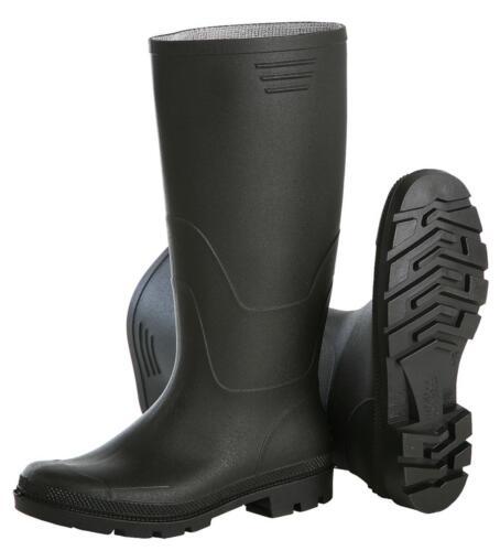 aprox 38 cm de alto para el ocio y jardín Las negras botas de goma talla 39-47 PVC