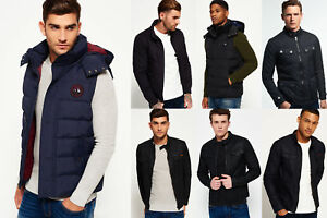New-Mens-Superdry-Jackets-Selection-Various-Styles-amp-Colours-1912-3