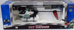 Sky-Watcher-Radio-Control-Nikko-510031-POLICE-HELICOPTERE-NEUF-NEW