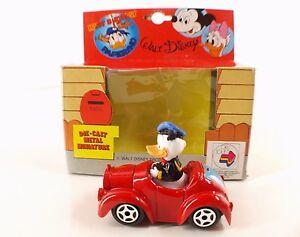 CO-toys-ESCI-Italie-n-WD01-Donald-et-sa-voiture-Walt-Disney-7-5-cm-neuf-boite
