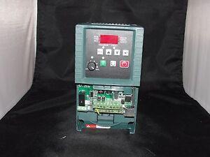 Reliance Electric 1/2 HP Inverter Drive 6MDBN-2P3102 Cat: 6MB200P5